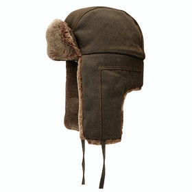 Cappello Stetson Faux Fur Bomber - Brown