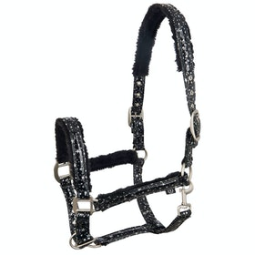 Imperial Riding Dreamlife Head Collar - Black Silver Star