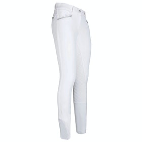 Imperial Riding El Capone Ladies Riding Breeches - White