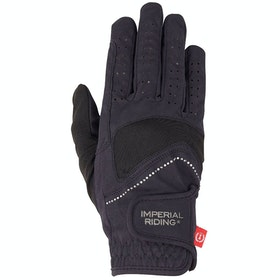 Imperial Riding Interesting Riding Gloves - Black