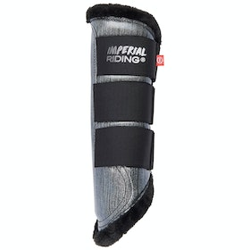Imperial Riding Live Your Dream IIII Tendon Boots - Dark Silver