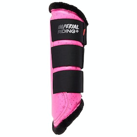 Imperial Riding Live Your Dream IIII Tendon Boots - Diva Pink Star