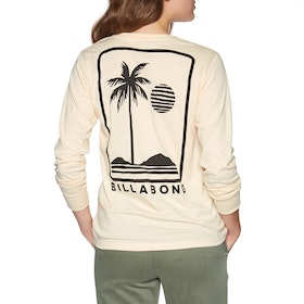 Billabong High Tide Womens Long Sleeve T-Shirt - Antique White