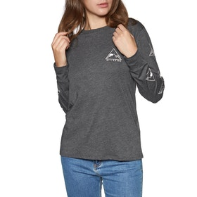 Billabong High Tide Womens Long Sleeve T-Shirt - Black