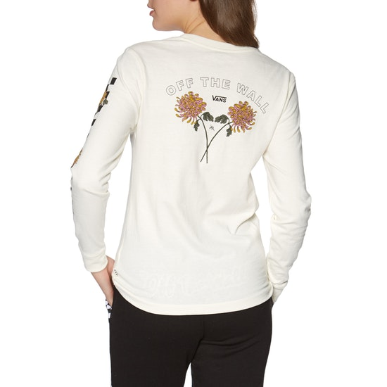 Vans Lizzie Chrys Boyfriend Womens Long Sleeve T-Shirt