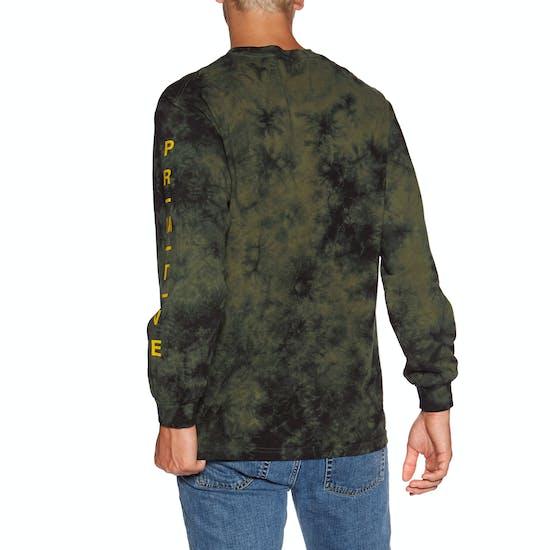 Primitive Moods Washed Langarm-T-Shirt