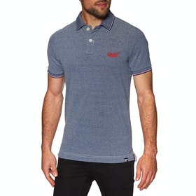 Chemise Polo Superdry Poolside Pique - Royal Twist