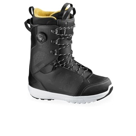 Salomon Launch Lace Boa Str8ght Jacket Snowboard Boots - Black/spectra