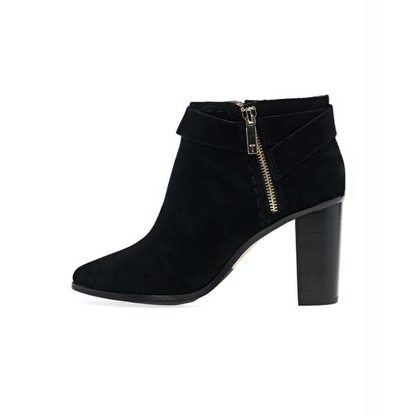 Ted Baker Anaedi Bow Detail Suede Heeled Damen Stiefel