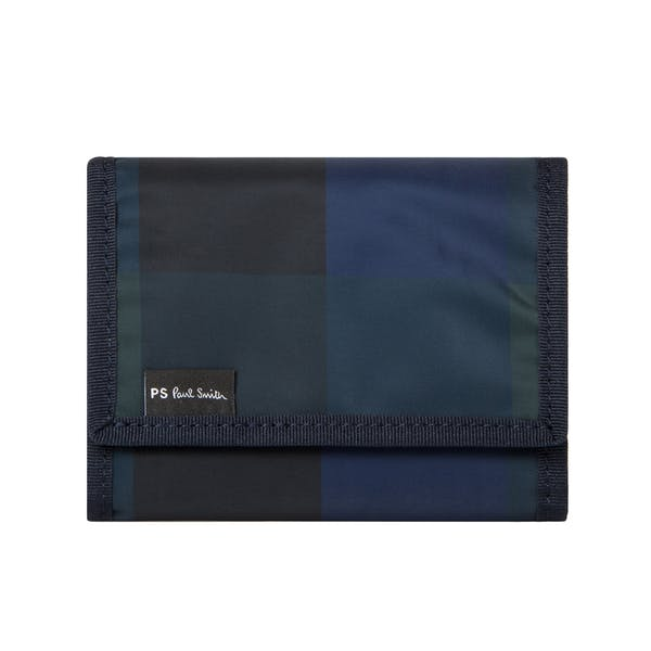 Paul Smith Check Nylon Wallet