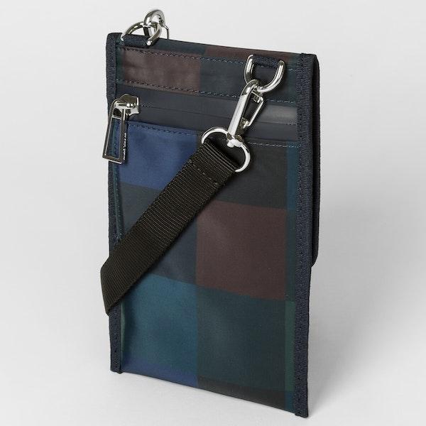 Paul Smith Check Nylon Pouch Wallet