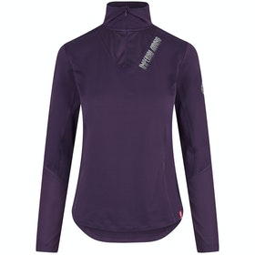 Imperial Riding Like I Do Technical Ladies Top - Deep Purple