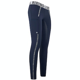 Imperial Riding Royalty Ladies Riding Tights - Navy
