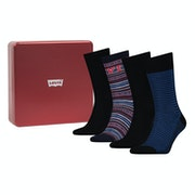 Levi's 4 pack Giftbox Regular Cut Fashion Socks