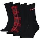 Levi's 4 pack Giftbox Regular Cut Socks