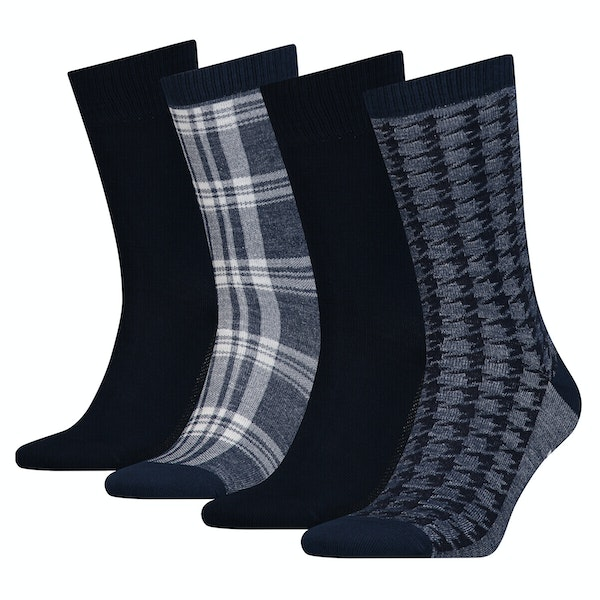 Levi's 4 pack Giftbox Regular Cut Socks