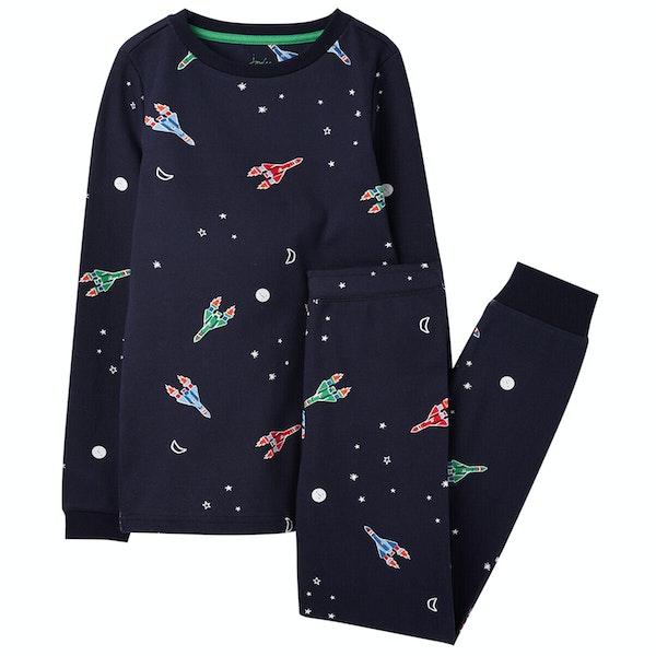Joules Snooze Glow In The DarkSet Boy's Pyjamas