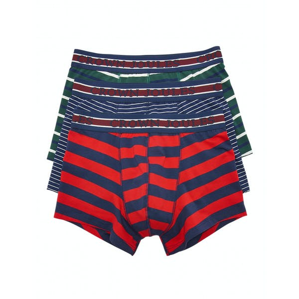 Joules Crown Joules 3 Pack Boxer Shorts