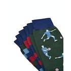 Joules 3 Pack Striking Socks