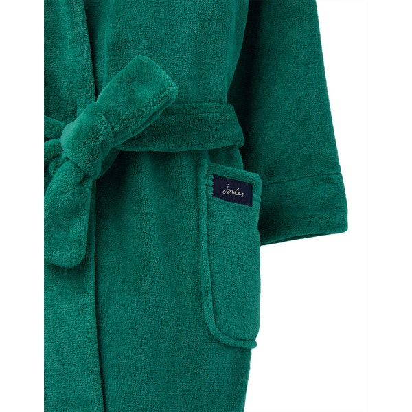 Joules Mark Novelty Hooded Boy's Dressing Gown