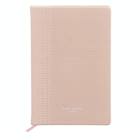Ted Baker A5 Brogue Notebook Women's Book - Pink