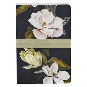Ted Baker A5 Notebook and Sticky Notes Women's Book - Opal Black