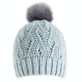 Dents Lace Marl Damen Beanie - Duck Egg