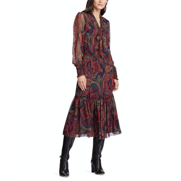 Ralph Lauren Georgette Dress