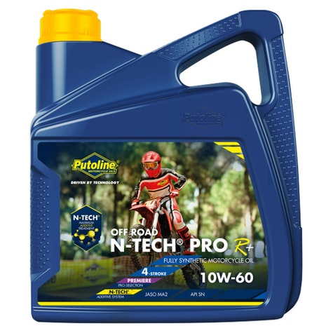Putoline N-Tech Pro R+ Off Road 10W/60 4 Litre Engine Oil