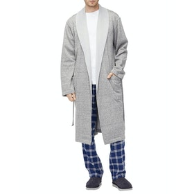 UGG Robinson Dressing Gown - Grey Heather