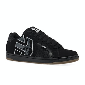 Chaussures Etnies Fader 2 - Black Grey White