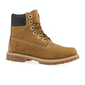 Stivali Donna Timberland Icon 6in Premium Waterproof - Wheat Nubuck