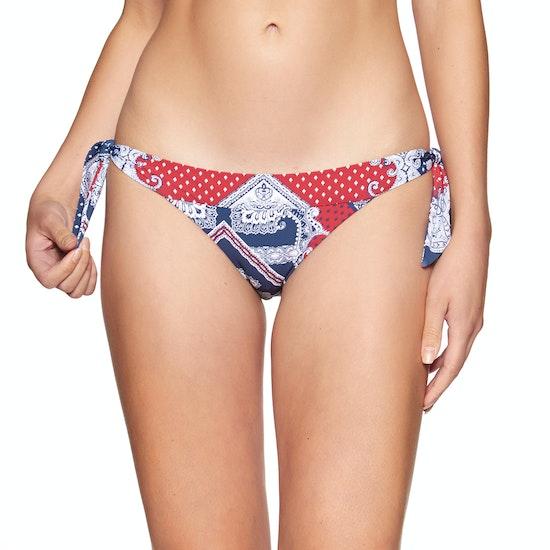 Seafolly Bandana Bay Tie Side Hipster Bikini Bottoms