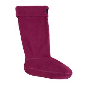 Joules Welton Womens Wellingtons Socks - Berry
