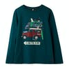Joules Finlay T-Shirt Lange Mouwen - Green Outta Here