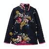Joules Fairdale Half Zip Girls Sweater - Anniversary Floral