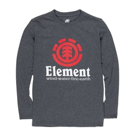 T-Shirt à Manche Longue Element Vertical - Charcoal Heather
