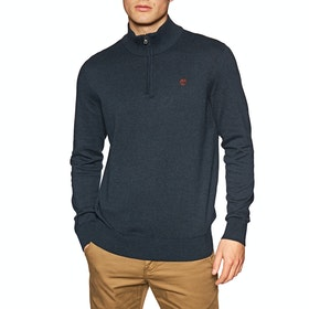 Timberland Williams River Half Knit , Knits - Dark Sapphire