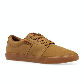 Chaussures Supra Stacks Vulc Ii - Tan Brown Gum