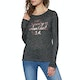 Superdry Parton Ls Graphic Top Womens Long Sleeve T-Shirt