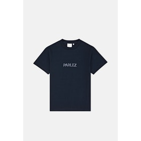 Parlez Shadow S S T-Shirt - Navy