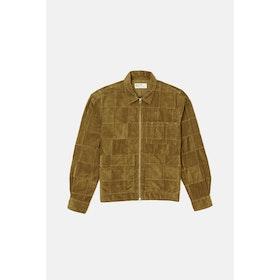 Giacca Universal Works Zip Uniform - Mustard