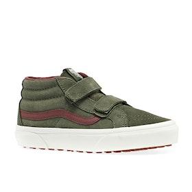 Chaussures Enfant Vans Sk8 Mid Reissue V MTE - Deep Lichen Green Root Beer