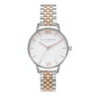 Olivia Burton White Dial Bracelet Women's Watch