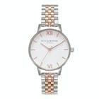 Olivia Burton White Dial Bracelet Women's Watch