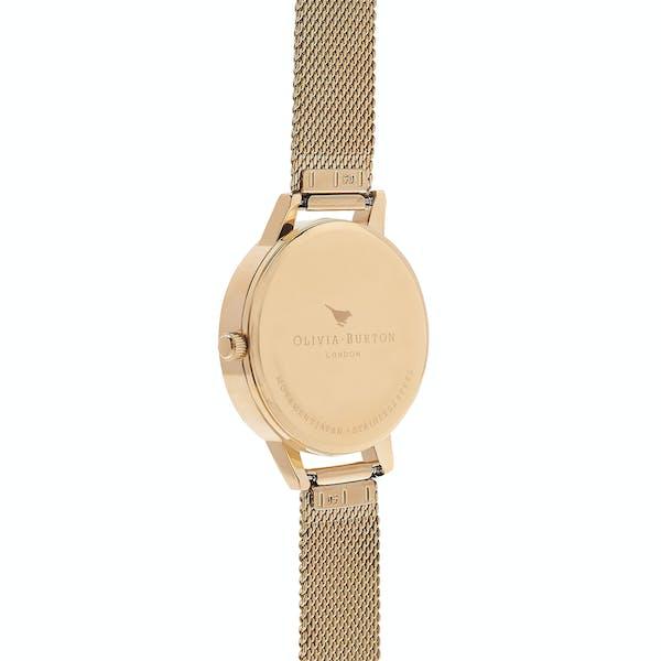 Reloj Mujer Olivia Burton White Dial Mesh