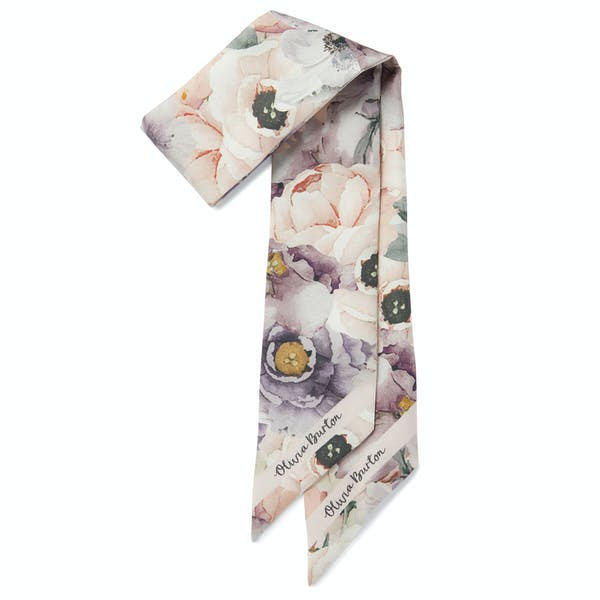 Olivia Burton Watercolour Skinny Women's Scarf