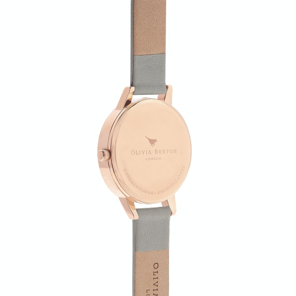 Olivia Burton White Dial Women's Watch