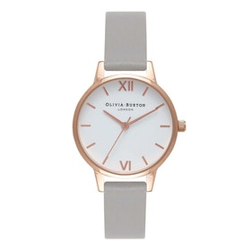 Orologio Donna Olivia Burton White Dial - Grey And Rose Gold