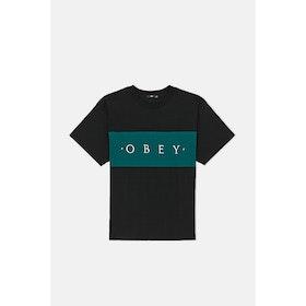 Obey Conrad Classic S S T-Shirt - Black Multi